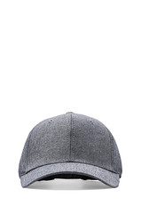 Gents Co. Throwback Chambray Cap in Grey