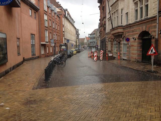 Pantheonsgade, Odense: Late Summer Rain