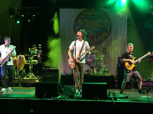 SOJA in concert @ Waikiki Shell
