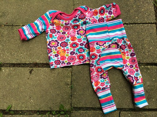 Bumstoppers BumSpot Pants 0-6 months 0-3 Lap Tee Happy Elephants