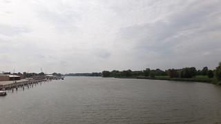 Saginaw River in Bay City, MI