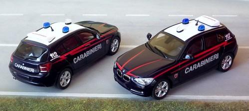 Autoparco BMW S1 Carabinieri
