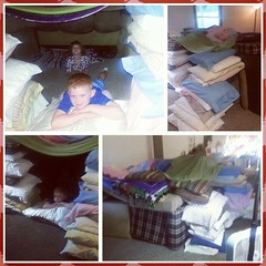 Yes, I am an expert fort builder. Dad certified.