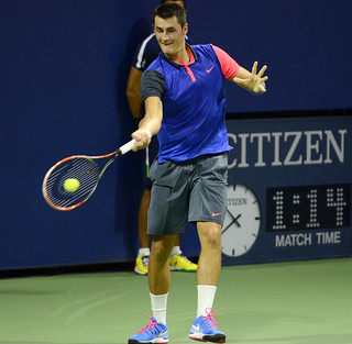 2014 US Open (Tennis) - Tournament - Bernard Tomic