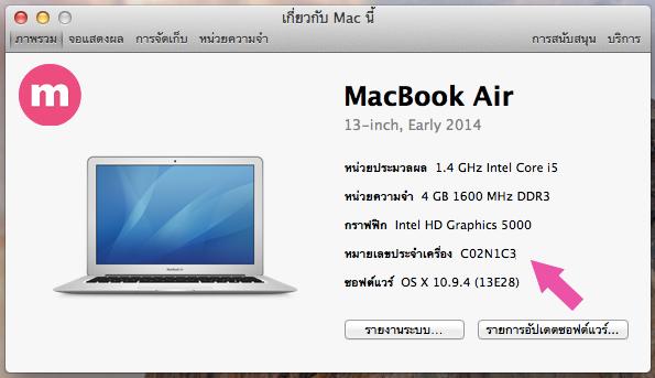 mac number