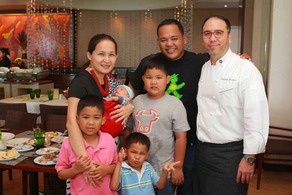 Anton and family