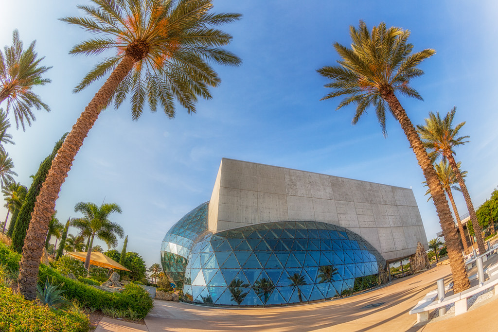 Salvador Dali Museum Dawn Fisheye Tight