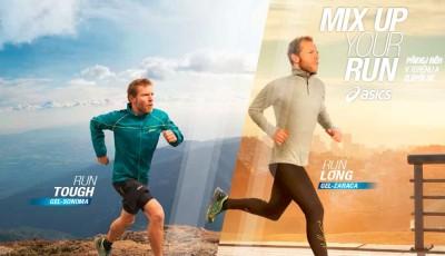 Silnice vs. terén: ASICS představuje kampaň MIX UP YOUR RUN