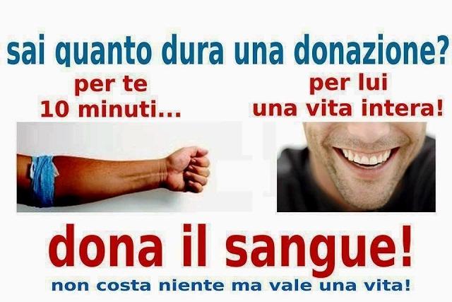 Noicattaro. Donazione sangue 21 Settembre 2014