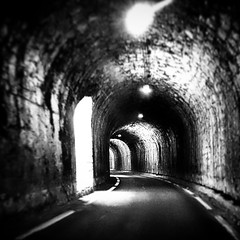 #dark #tunnel  #drome #rhonealpes #france