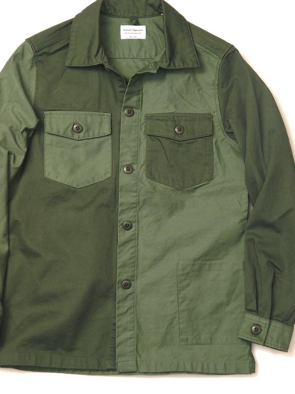 Manual Alphabet / Crazy Military Shirt Jacket