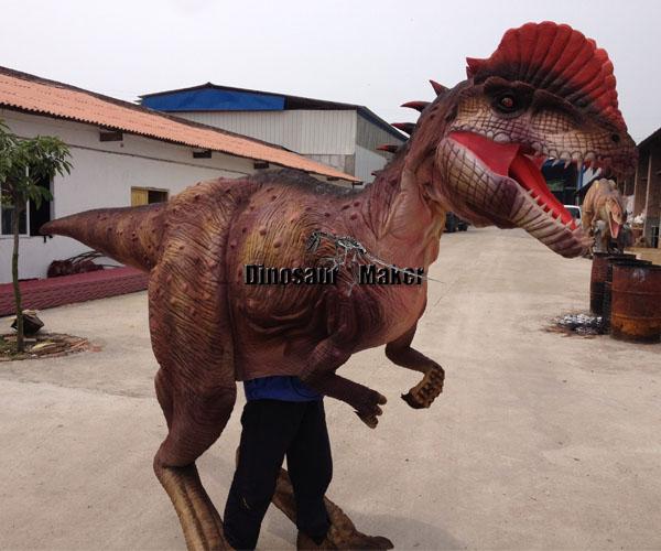 Walking Dilophosaurus