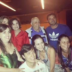 Fãs tietam Rosamaria Murtinho e Mauro Mendonça #TôGrávida  #BlogAuroradeCinemaindica @roseiramur
