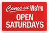 Saturday hours begin this Saturday 9/6....stop in, we'll be here from 10am - 5pm. (Saturday hours will continue thru the school year and end the last Saturday of June.)