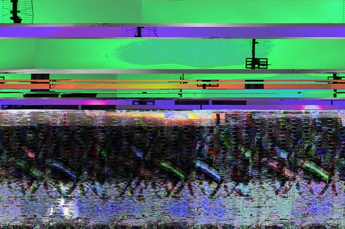 Mixed Media Glitch