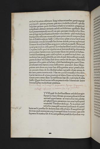 Variant reading in Eusebius Caesariensis:De evangelica praeparatione