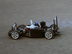 Modellauto ohne Karosserie