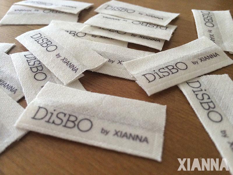 Etiquetas de los estuches Lupita DisBo by Xianna
