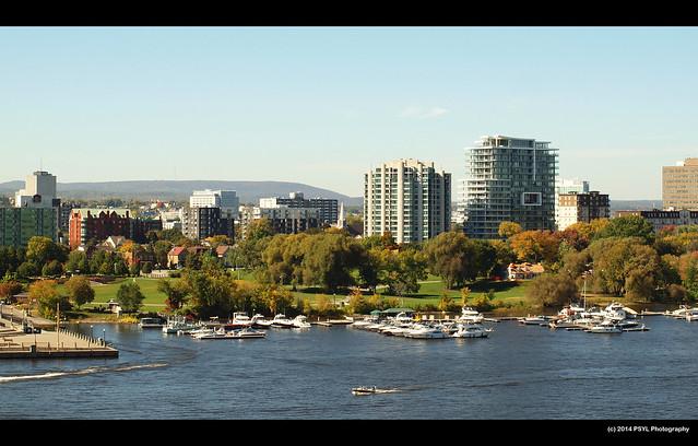 Gatineau-side of Ottawa River