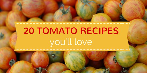 20 Tomato Recipes You'll Love by Eve Fox, The Garden Of Eating, copyright 2014