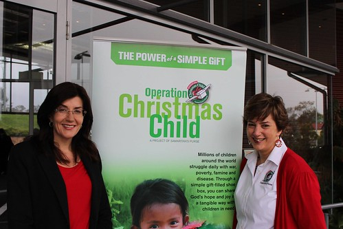 The Launch of Operation Christmas Child 2014 | by jacquiepetrusma