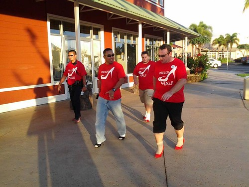 Walk A Mile In Her Shoes courtesy of WHW