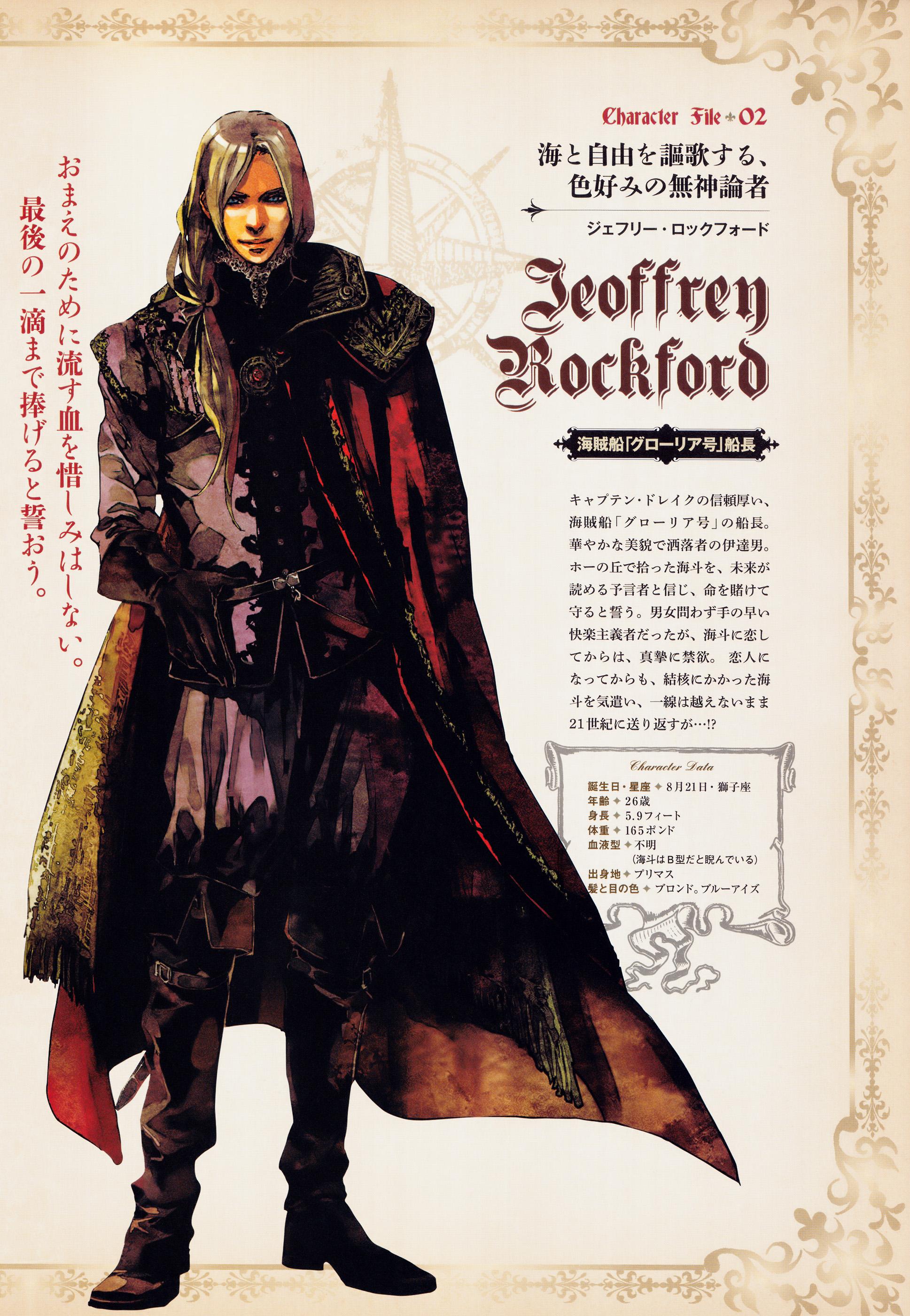 FLESH & BLOOD - Characters (3)