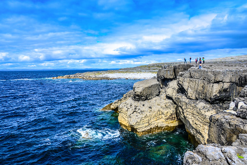 ocean park county ireland irish cliff galway water rock stone landscape see bay meer europe clare stones rocky eu irland eire cliffs na atlantic national co granite burren np irlanda irlande éire poblacht boireann airlann héireann