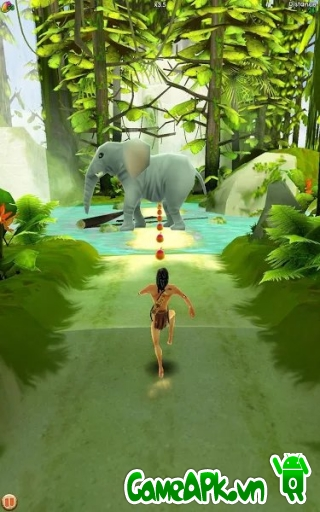 Tarzan Unleashed v1.343.0 hack full tiền cho Android