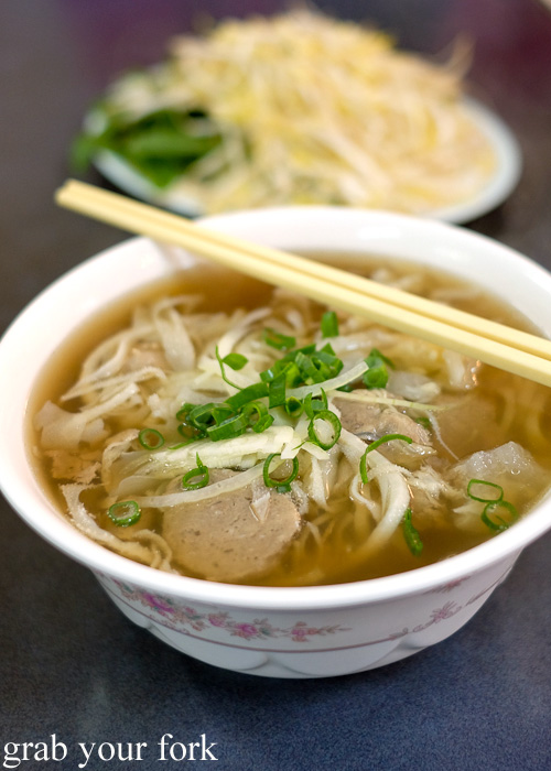 Pho toan thang flemington grab your fork a sydney food for Aria persian cuisine