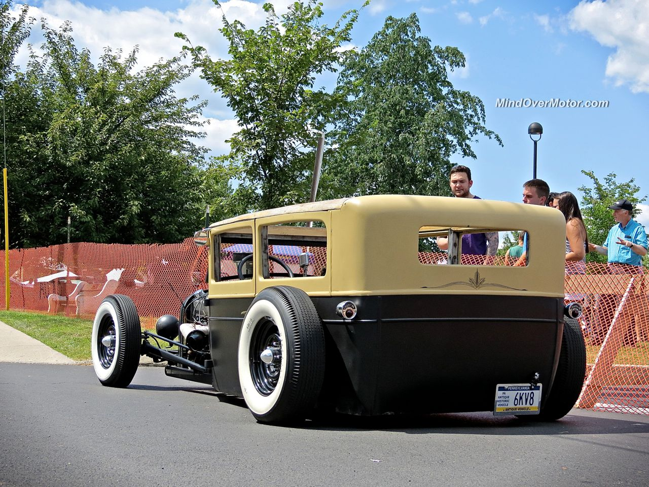 Ford Rat Rod in New Hope Rear View