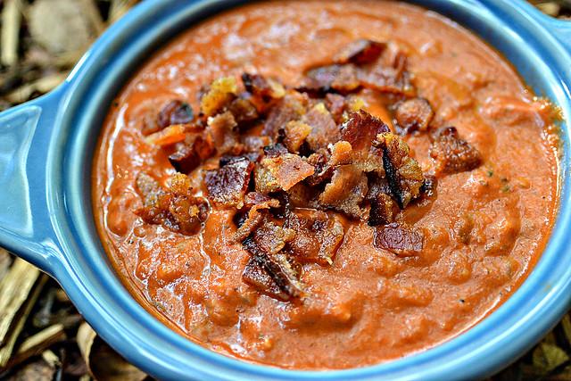 Bacon & Rice Tomato Soup