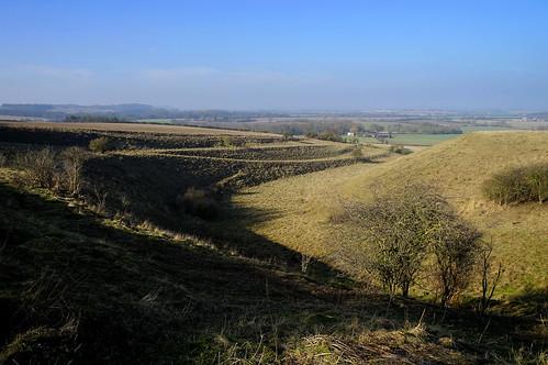 knockingknoll naturereserve bedfordshire beds knockinghoe uk unitedkingdom england terracing terrace striplynchet ancient siteofspecialscientificinterest combe sssi pegsdon