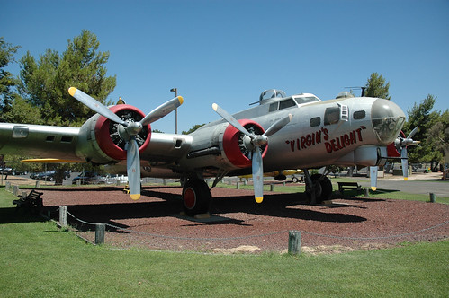 Boeing B-17 Fortress at the Castle Air Museum