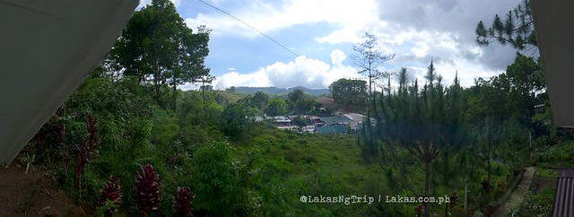Panoramic view from the terrace. DDD Habitat Inc., in Lorega, Kitaotao, Bukidnon