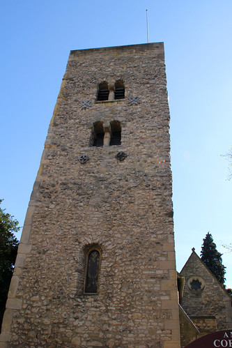 Saxon Tower of St Michael at the North Gate