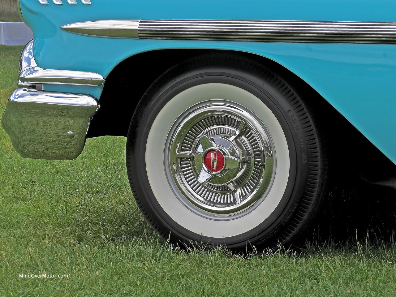 1958 Chevrolet Impala Wheel