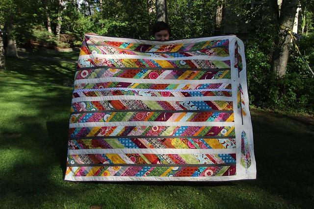 her quilt.........