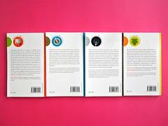 Città della scienza; vol. 1, 2, 3, 4. Carocci editore 2014. Progetto Grafico di Falcinelli & Co. Quarte di copertine: vol. 4, 1, 3, 2 (part.) 1