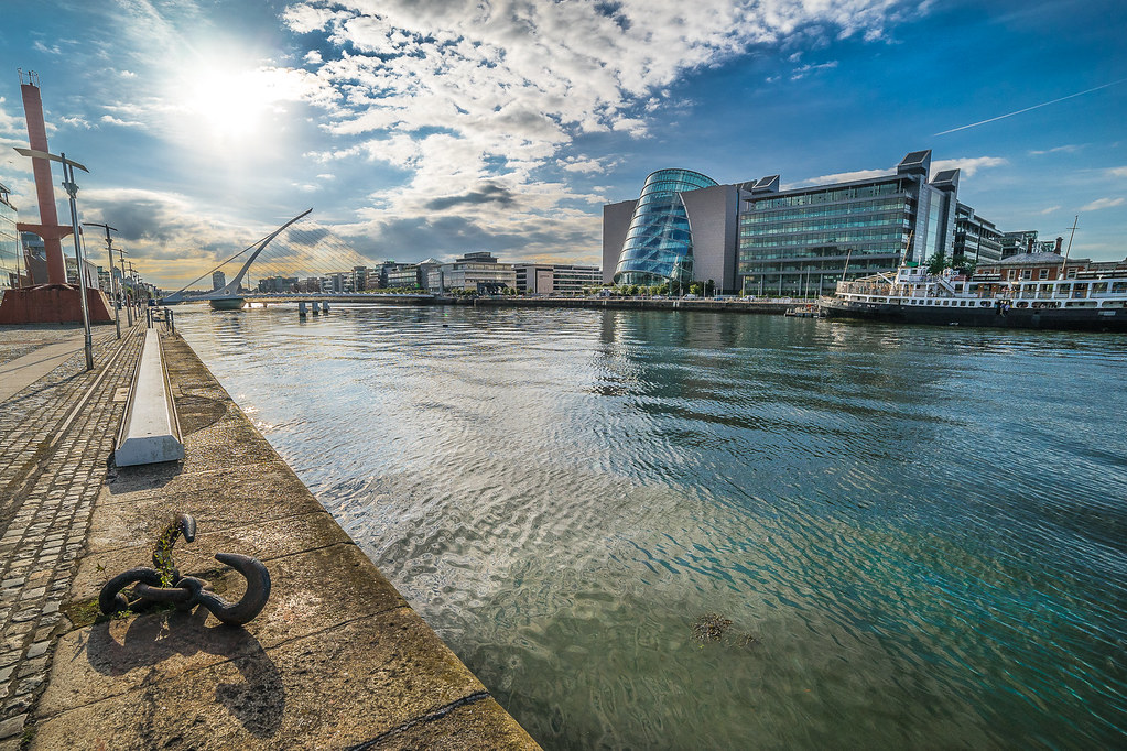 Grand Canal dock, Dublin, Ireland picture