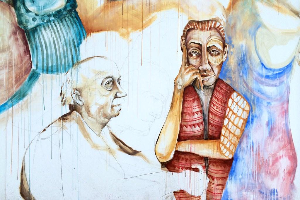 Watercolour coming alive