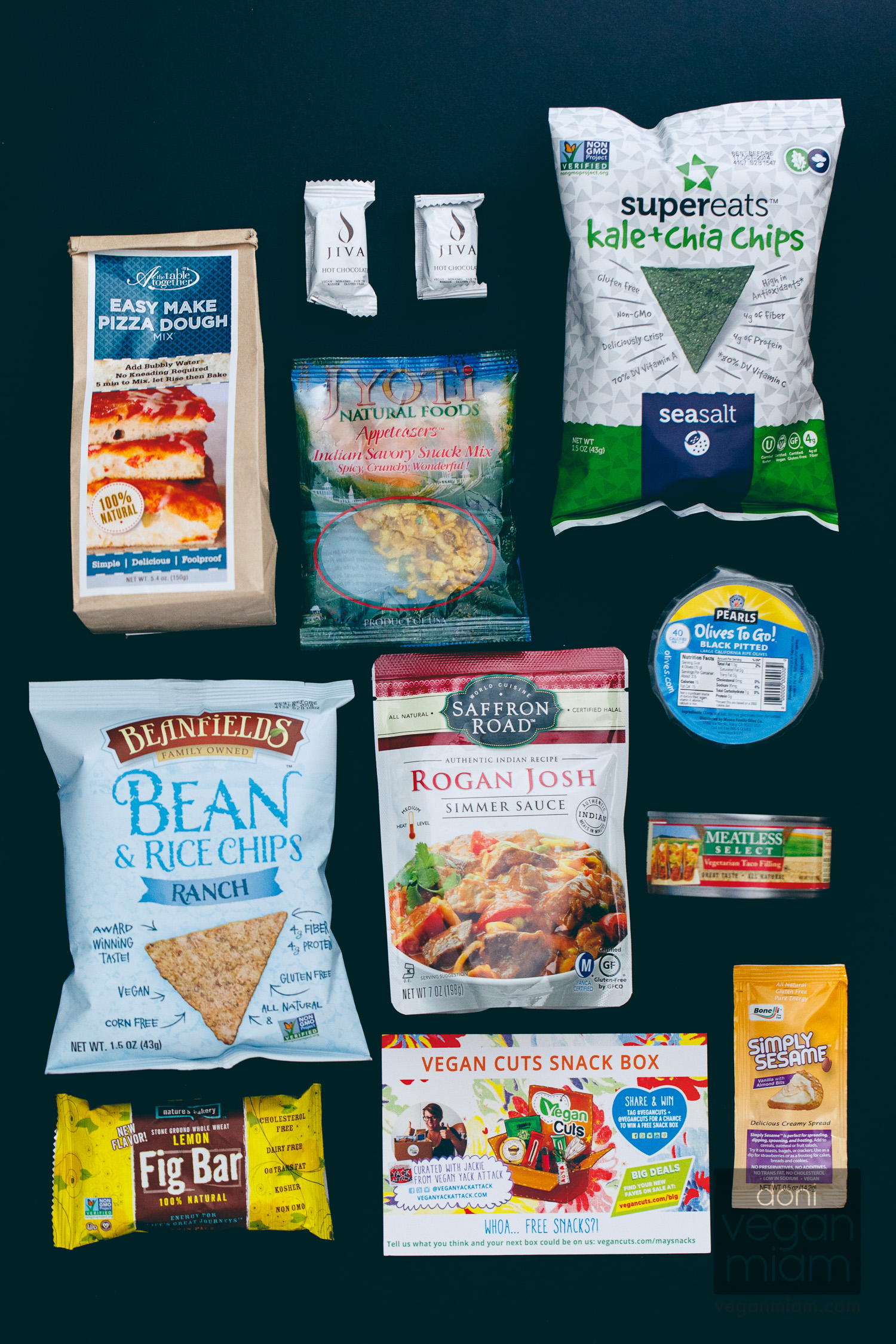 Vegan Cuts Snack Box May 2014 Review