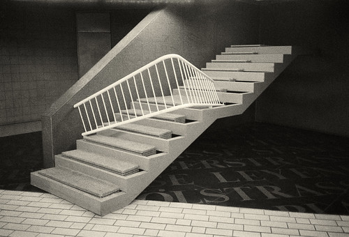 A staircase to nowhere