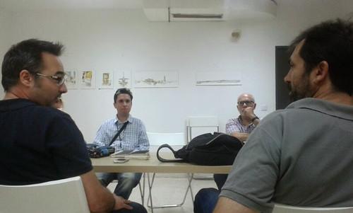 Encuentros con los autores: EXPOSICIÓN DERIVA