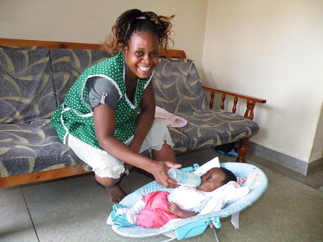 halima with Aunt Juliet