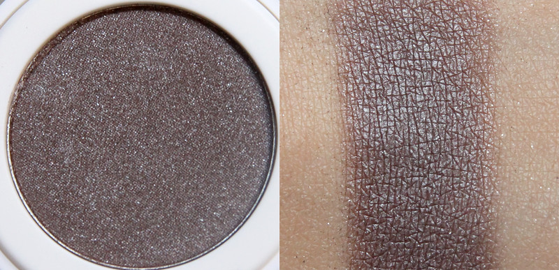 Lily Lolo truffle shuffle pressed eye shadow swatch