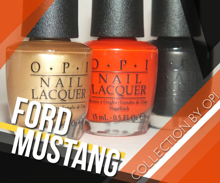 ford mustang by opi collection swatches