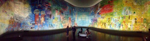 La Fée Electricité / Electricity fairy - Raoul Dufy au Musée d'Art Moderne. June 10, 2014 - 365 Days Project