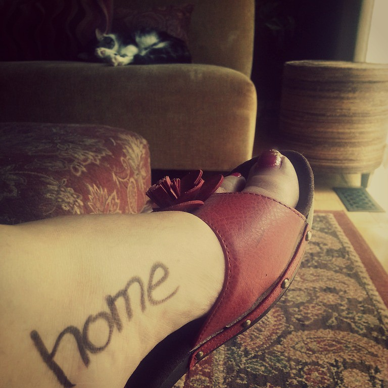 Today I shall be...{home}