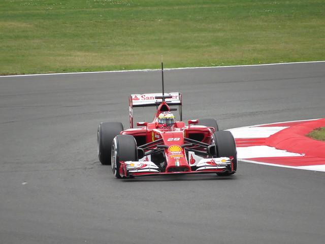 F1 Testing, Silverstone 8th July 2014